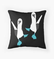 Blue Footed BOOBIES! Throw Pillow
