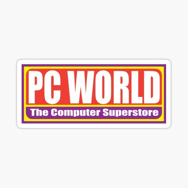 PC World Sticker
