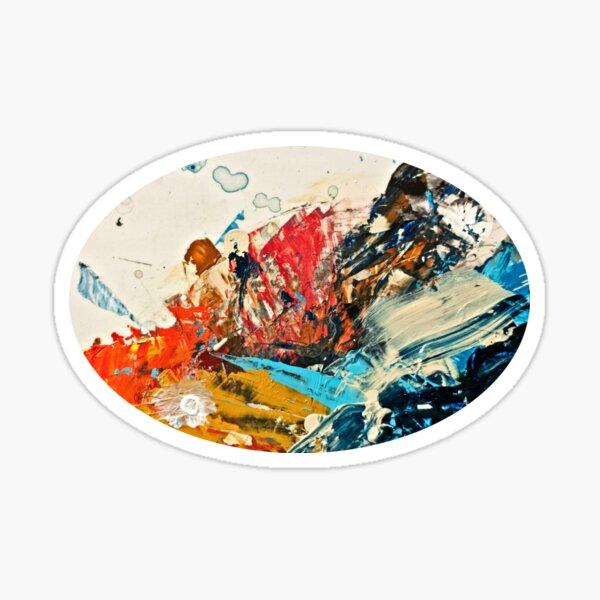 Abstrait No 1 Sticker