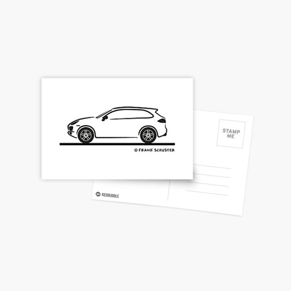 Porsche Cayenne (Type 9PA) Postcard