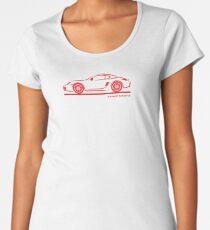 Porsche Cayman 987 Premium Scoop T-Shirt
