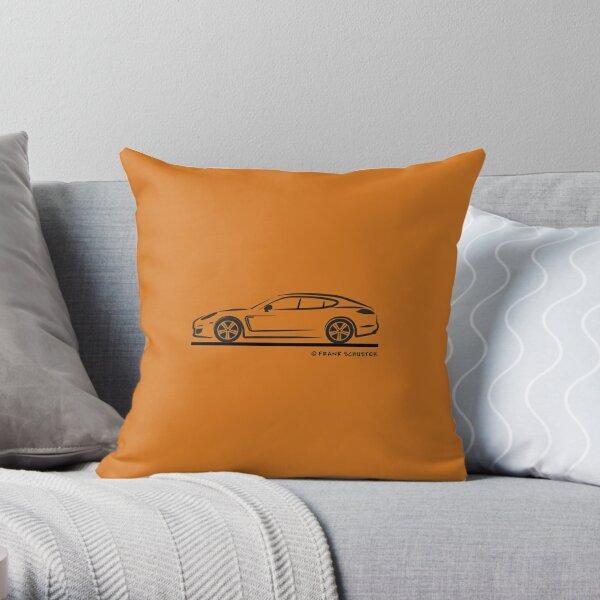 Porsche Panamera 970 Throw Pillow