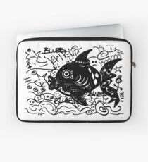 Fisch Abstrakte Kunst Laptoptasche