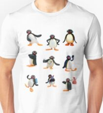 Camiseta unisex Humor de Pingu