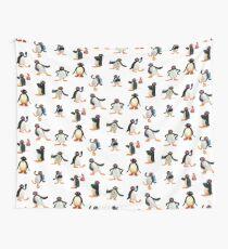 Pingu mood Wall Tapestry