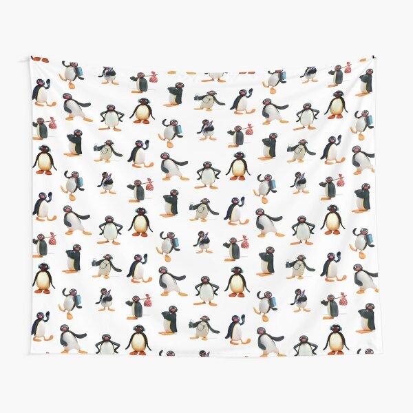 Pingu mood Tapestry