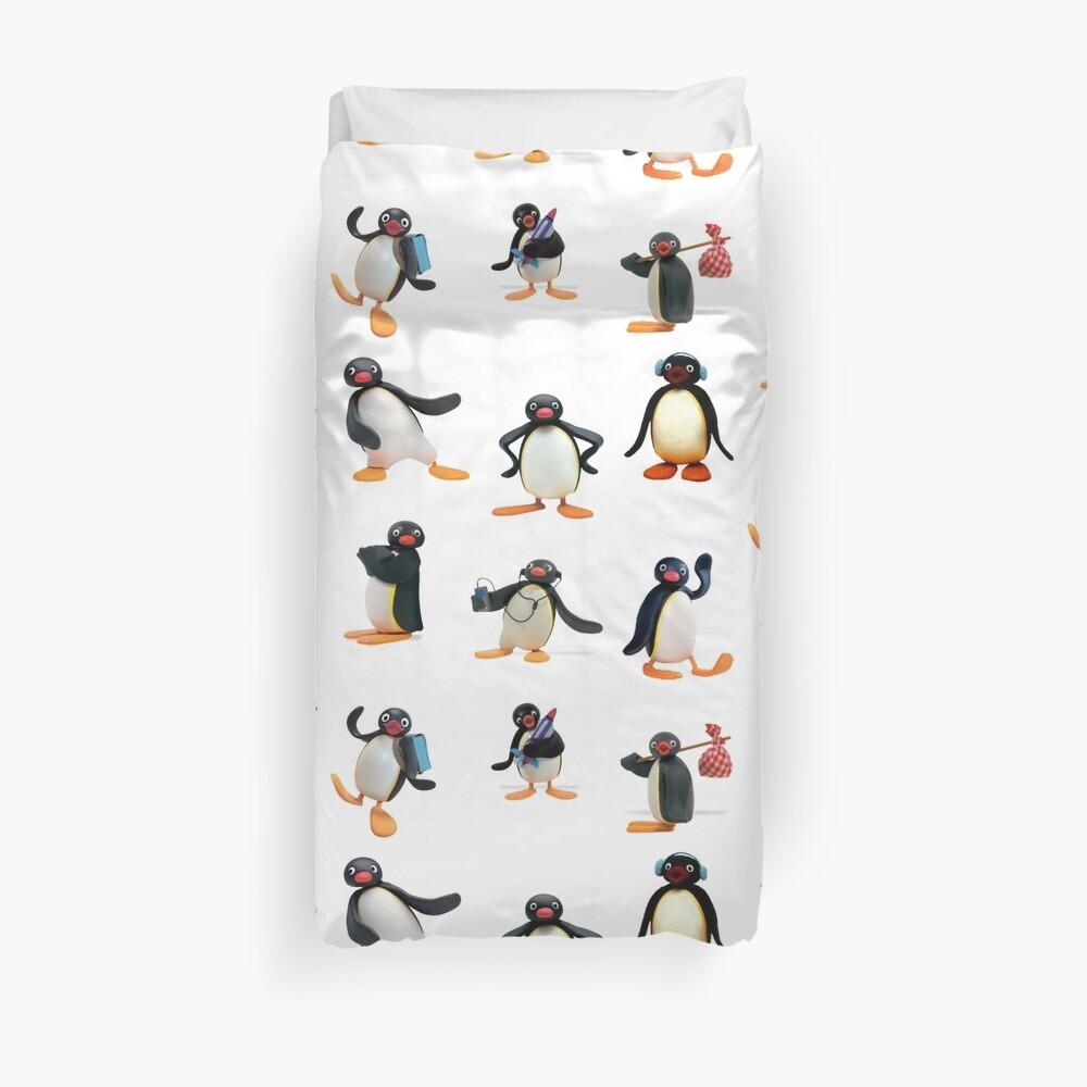 Pingu Stimmung Bettbezug