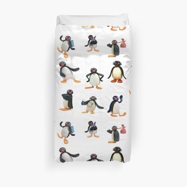 Pingu mood Duvet Cover
