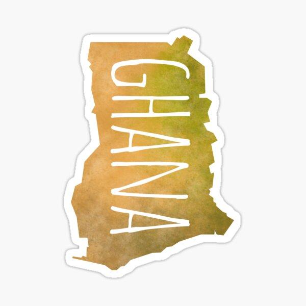 Ghana Sticker