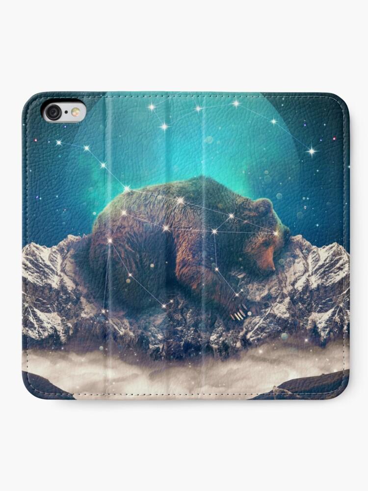Alternative Ansicht von Unter den Sternen | Ursa Major iPhone Flip-Case