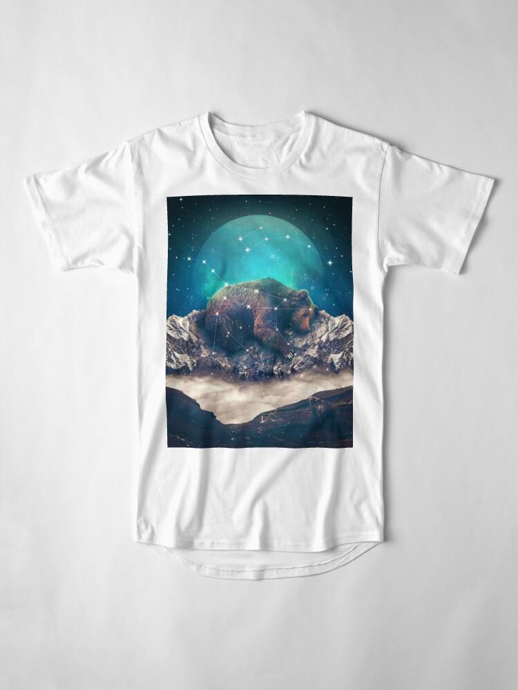 Alternative Ansicht von Unter den Sternen | Ursa Major Longshirt
