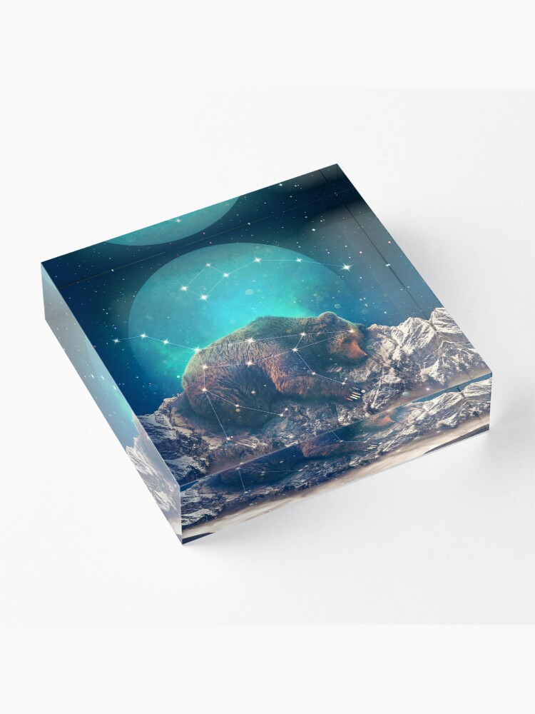 Alternate view of Under the Stars | Ursa Major Acrylic Block