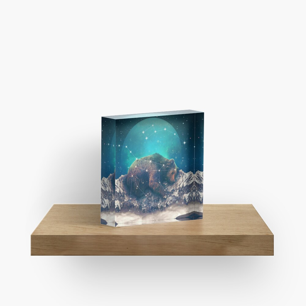 Under the Stars | Ursa Major Acrylic Block