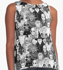 Horror Monsters Contrast Tank