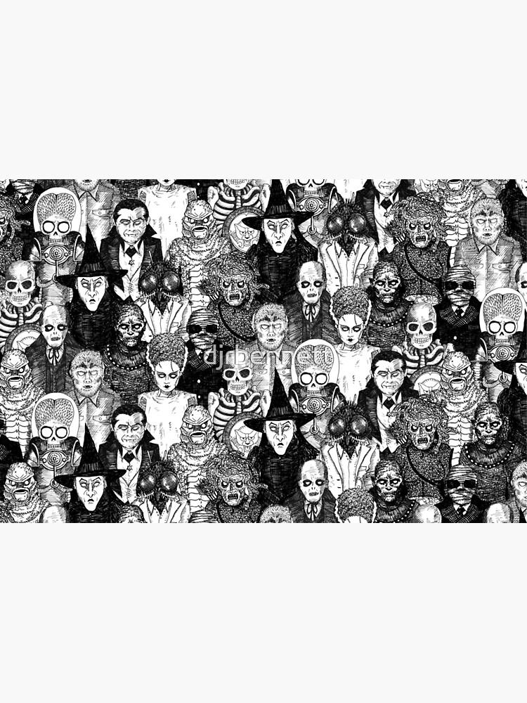 Horror Monsters by djrbennett