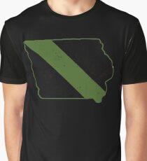 CBP Game Warden Iowa Border Patrol Park Ranger Graphic T-Shirt
