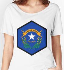 NEVADA HEXAGONAL SEAL Women's Relaxed Fit T-Shirt