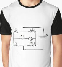 Diagram, Pattern, design, tracery, weave, Physics, education, electricity, #Diagram, #Pattern, #design, #tracery, #weave, #Physics, #education, #electricity Graphic T-Shirt