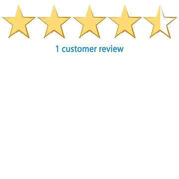 I am rated four and a half stars  by jlgrcreations05