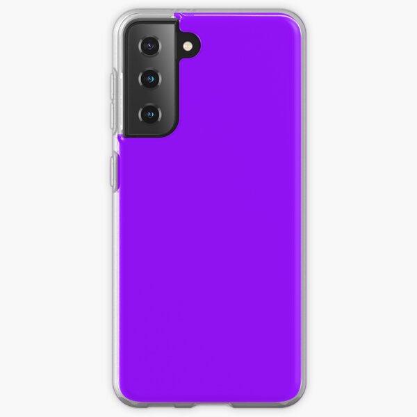 Solid Colour | Electric Violet  | Neon Violet Samsung Galaxy Soft Case