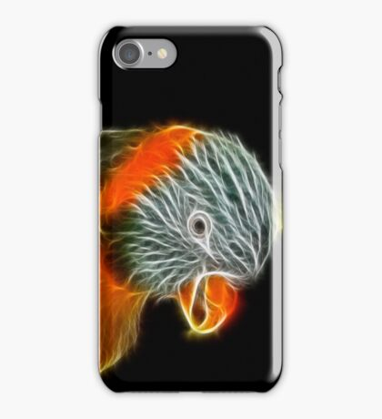 St Olly's Fire (Not St Elmo's!) iPhone Case/Skin