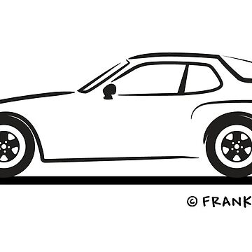 Porsche 944 Turbo Black by azoid