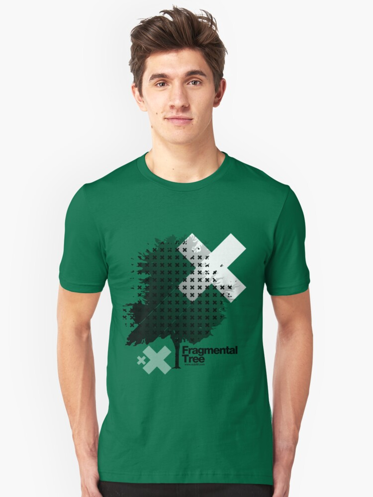 Fragmental Tree /// Unisex T-Shirt Front