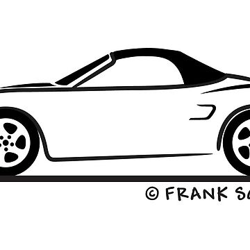 Porsche Boxster 986 Top Up Black by azoid