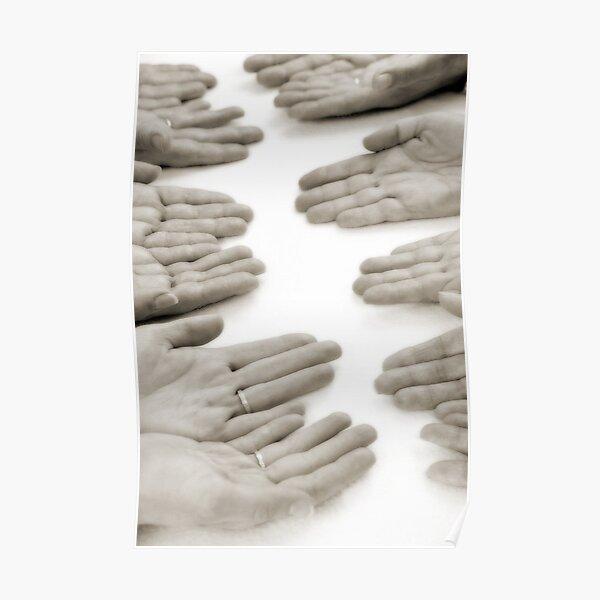 Hands: Meeting Poster