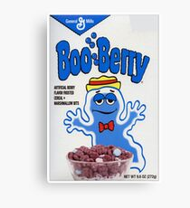 Boo Berry Monster cereal Canvas Print