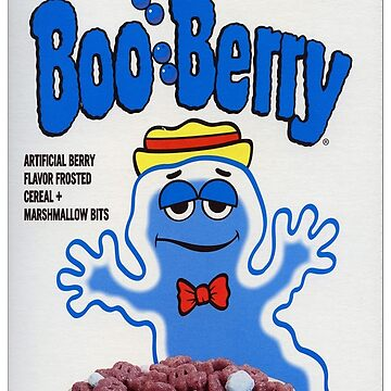 Boo Berry Monster cereal by 16TonPress