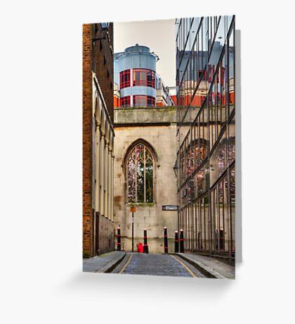 St Dunstan's Hill - London Greeting Card