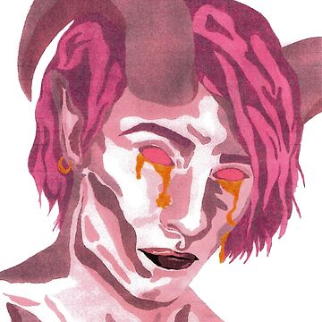 Mollymauk Tealeaf Painting by MorganaRed
