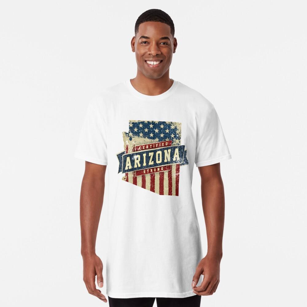 Arizona Starke USA Flag State Home Certified Großes Geschenk Awesome Stolze Fans Longshirt