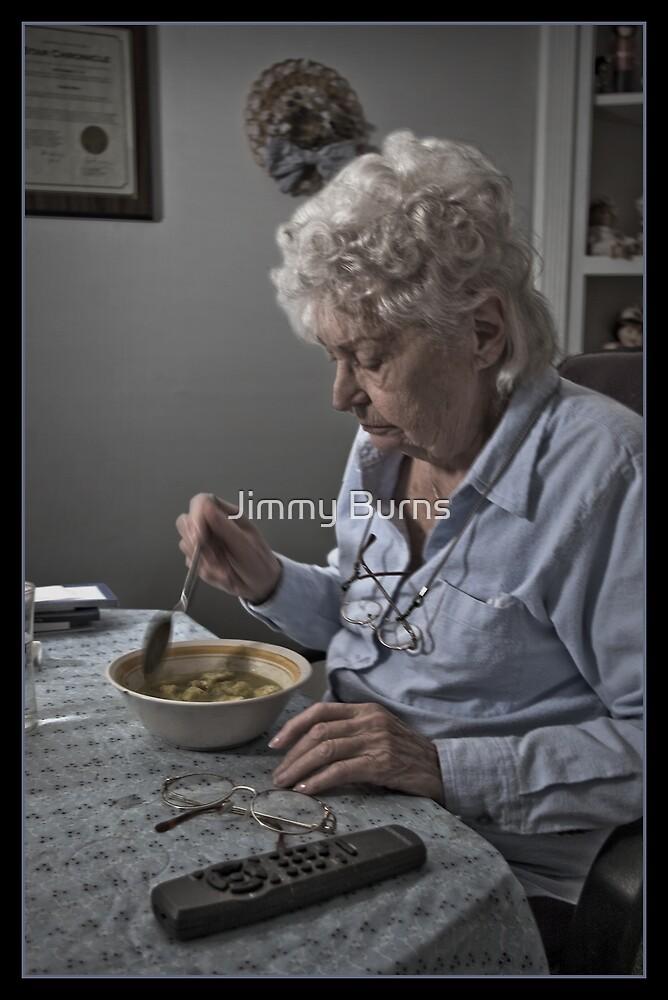 Alone by Jimmy Burns