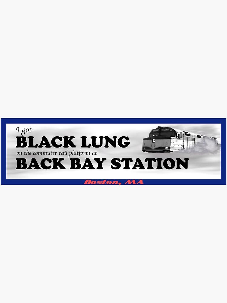 I Got Black Lung at Back Bay by woollmerch