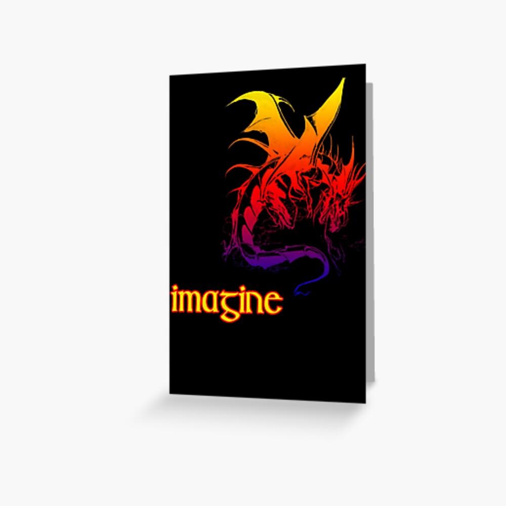 imagine dragons Greeting Card