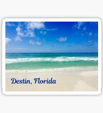 Destin Florida Beautiful Beach Photograph Sticker