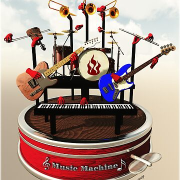 The Music Machine by EstherJohnson