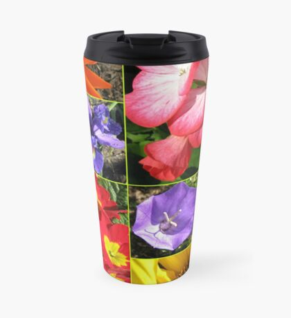 Sunkissed Blumen-Collage Thermosbecher