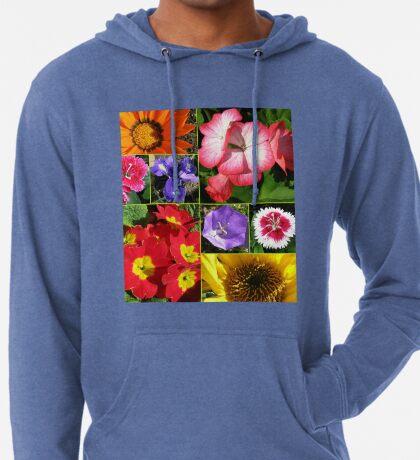 Sunkissed Blumen-Collage Leichter Hoodie