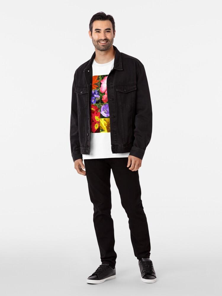 Alternative Ansicht von Sunkissed Blumen-Collage Premium T-Shirt