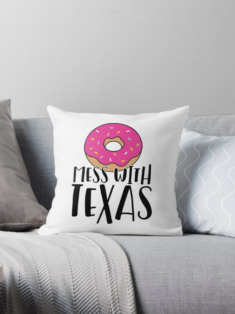 Donut Mess with Texas by Brittany Kulick