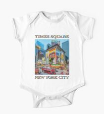 Times Square III Special Finale Edition poster Short Sleeve Baby One-Piece