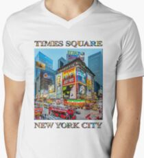 Times Square III Special Finale Edition poster V-Neck T-Shirt