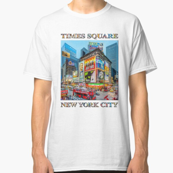 Times Square III Special Finale Edition poster Classic T-Shirt