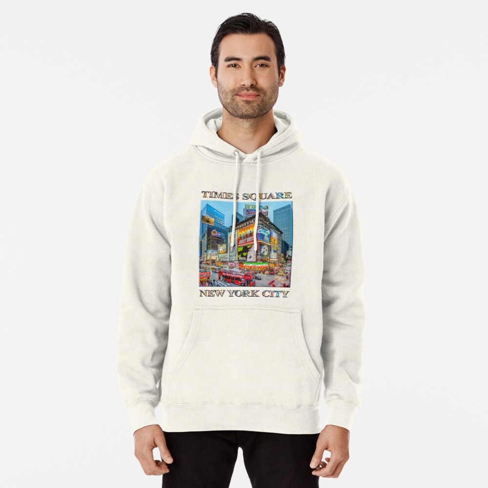 Times Square III Special Finale Edition poster Pullover Hoodie