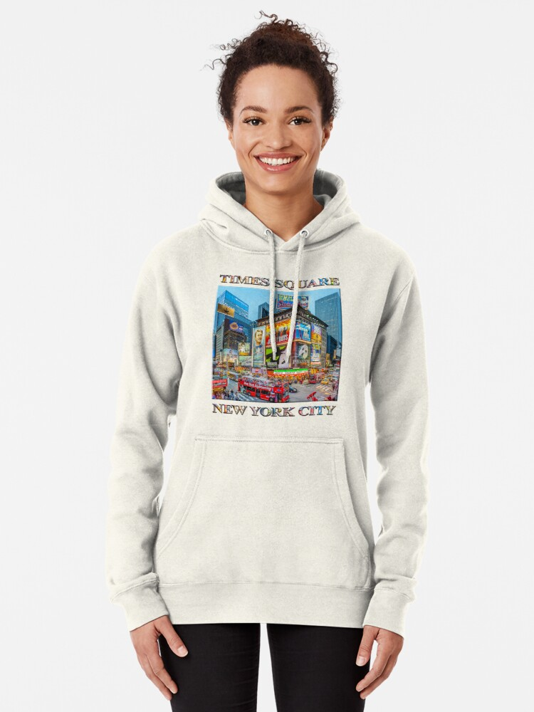 Alternate view of Times Square III Special Finale Edition poster Pullover Hoodie