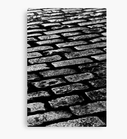 Cobbled Together - Covent Garden - London Canvas Print
