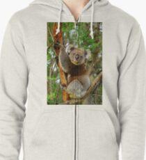 Koala Zipped Hoodie